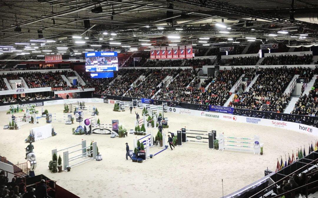 Helsingin ratsastajat Pariisin maailmancupin finaalissa