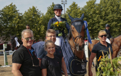 Marina Ehrnrooth Hanko Grand Prix'n voittoon