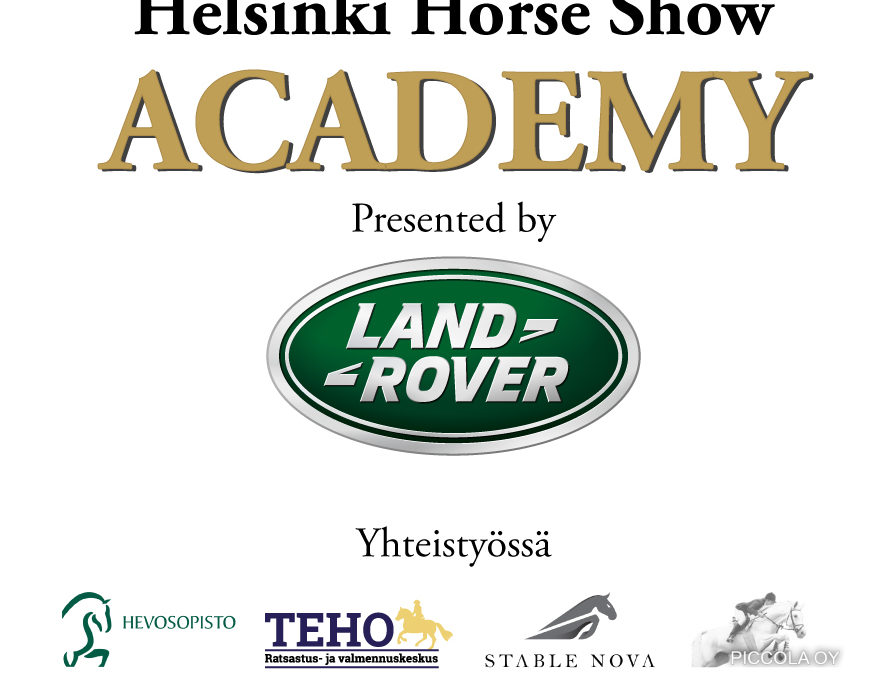 Helsinki Horse Show Academy Presented by Land Rover