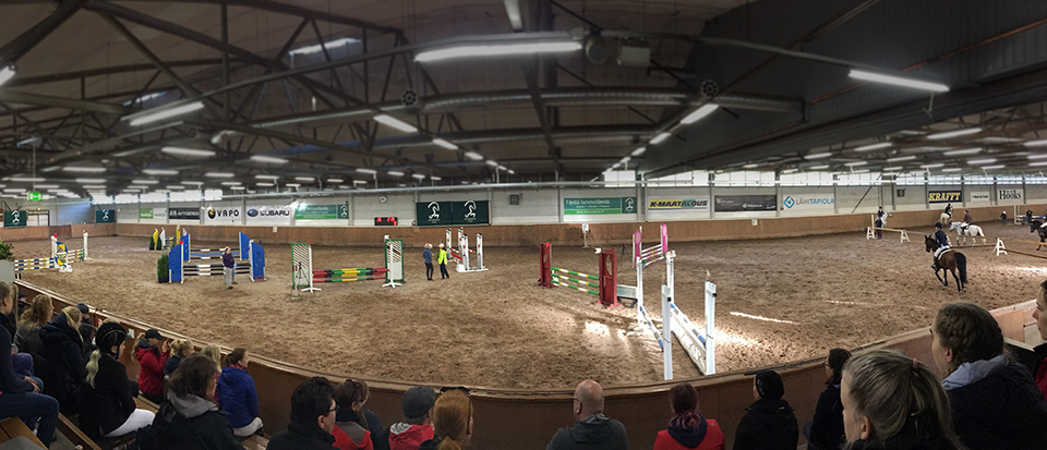 Ypäjä Horse Show'n kolmannen päivän finaalipaikat