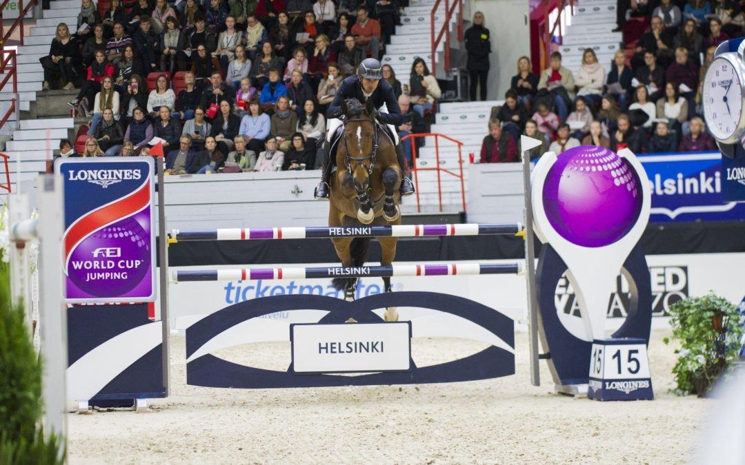 Steve Guerdat rides in 5* Helsinki!