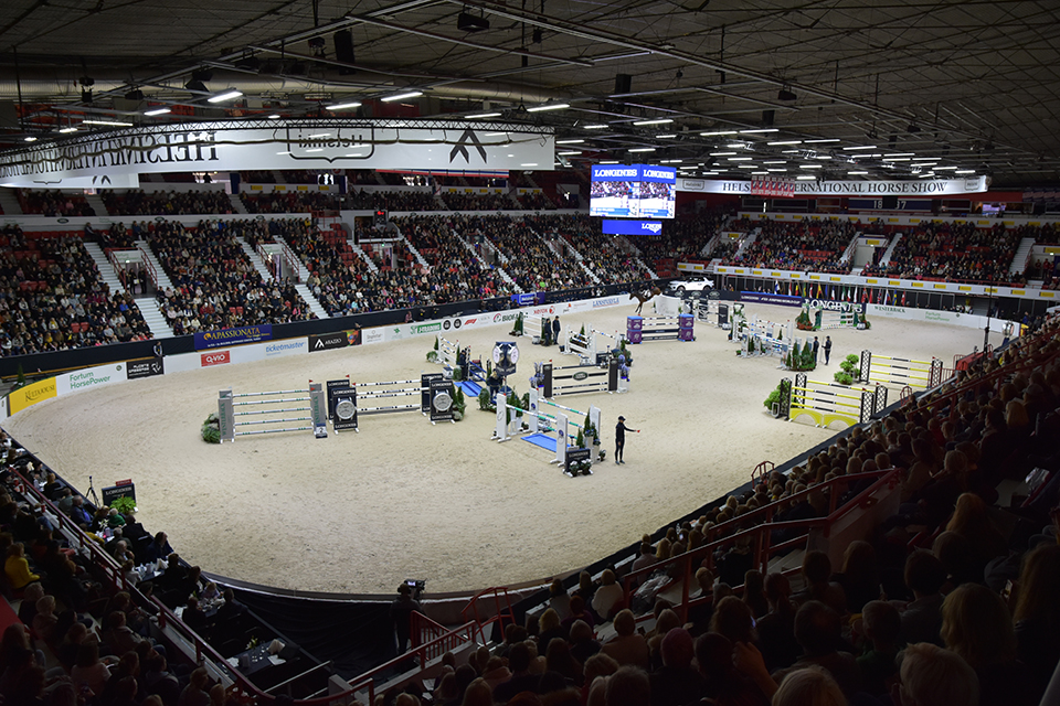 Helsinki Horse Show´ssa ratsastat tähtien kanssa