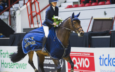 First five star victory for Emma Tallberg
