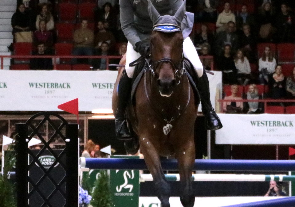Another win for Philipp Weishaupt in Helsinki