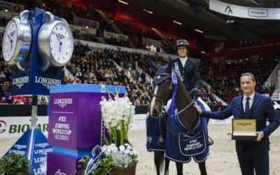Gudrun Patteet hits hard – Best jump-off ever!