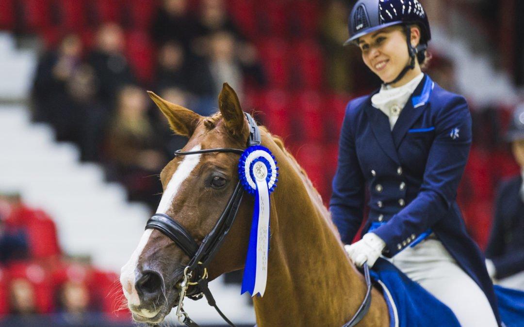 Laura Lehtonen ja Rascaja LähiTapiola Small Tourin finaalin voittajat