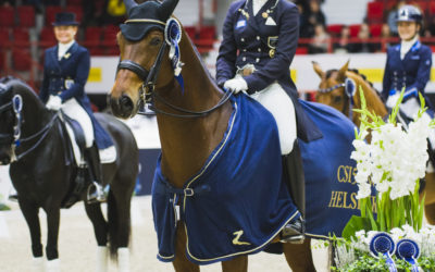 Triple victory for Finland in Dressage GP Kür
