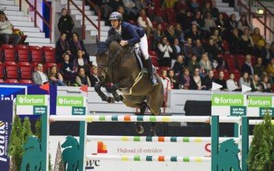 Steve Guerdat wins the 145 cm Fortum HorsePower