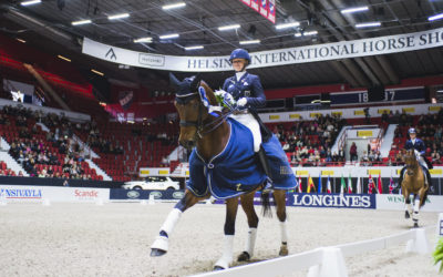 Great win for Emma Kanerva in Dressage GP