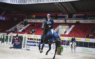 Sanna Backlund jälleen voittoon kansainvälisessä avausluokassa