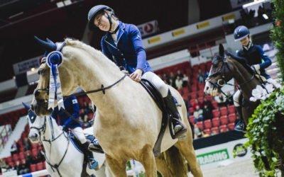 Kilpailemaan Horse Show'hun