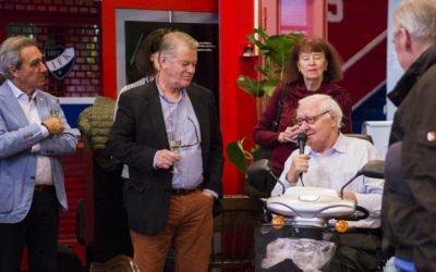 Max Ammann celebrates his 80th birthday in Helsinki