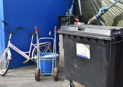 Kestävää liikkumista ja kierrätystä