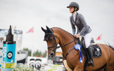 Jasmin Ranta-aho ensimmäistä kertaa Horse Show´hun