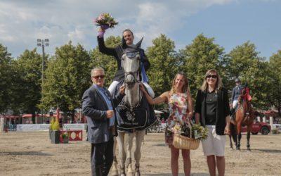 Henrikki Pajulahti Horse Show'hun Hangon voitollaan