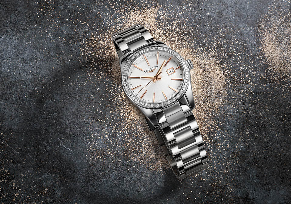 The new Longines Conquest Classic is bold, yet refined
