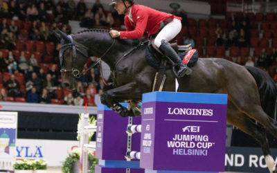 Pius Schwizer kiiti Fortum HorsePower -luokan voittoon