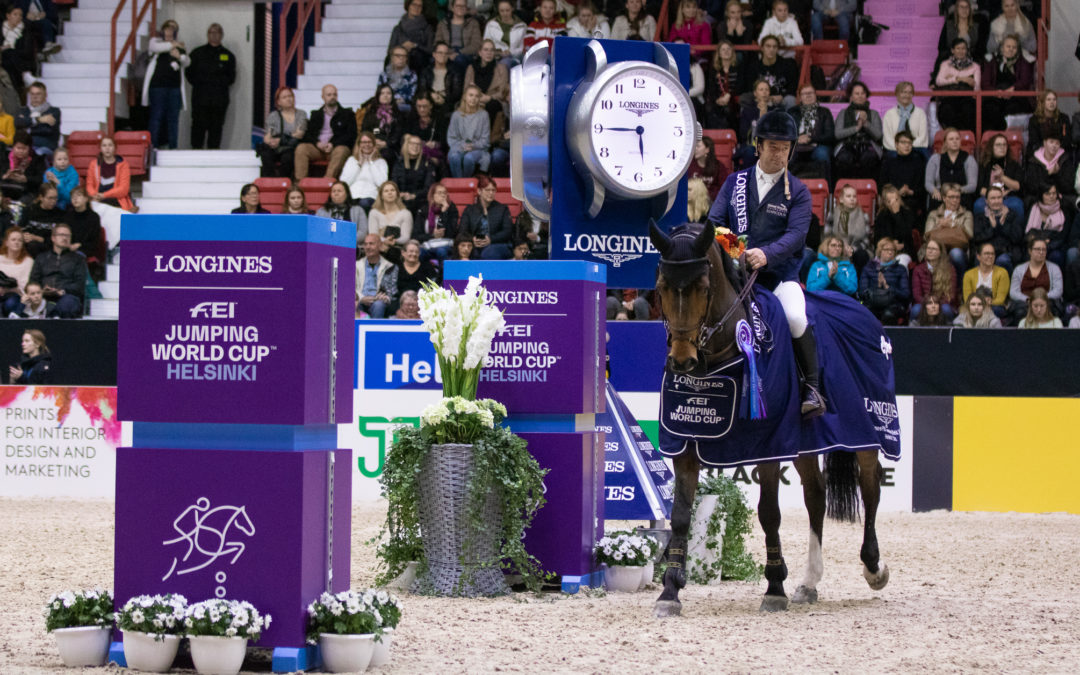 Robert Whitaker scores a brilliant win in Longines FEI World Cup