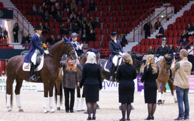 Dressage GP win to Sweden