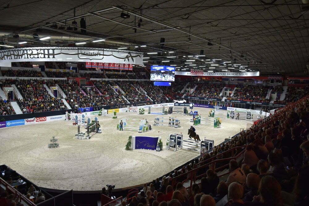 Helsinki Horse Show yleisöennätykseen! Viikonlopun aikana yli 50 000 kävijää