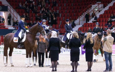 Sandra Dahlin ja Ichi ylivoimaiseen GP-voittoon kouluratsastuksessa