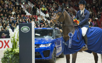 What a jump-off – Robert Whitaker number one in Land Rover Grand Prix!