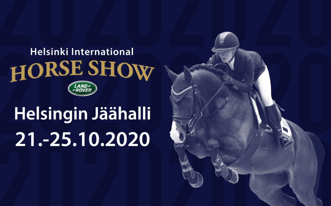 """Helsinki Horse Show julkisti 2020 ilmeensä – """"Halusimme tänä vuonna suomalaisen ratsastajan kuvan"""""""