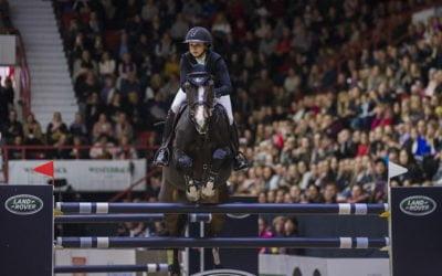 Helsinki Horse Show on Anna-Julia Kontion suosikki