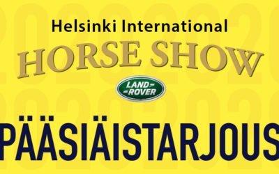 Pääsiäiskampanjalla nauttimaan Horse Show'sta