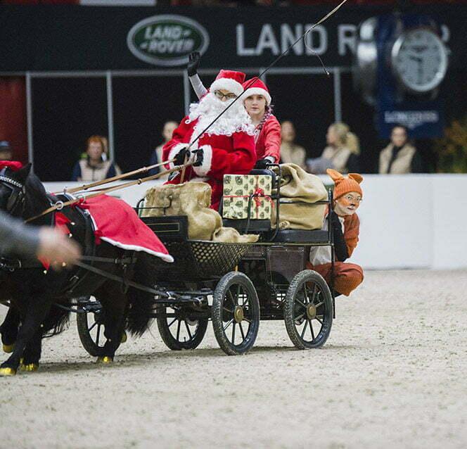 Helsinki Horse Show'lta lahjakortti joulukuun ajan